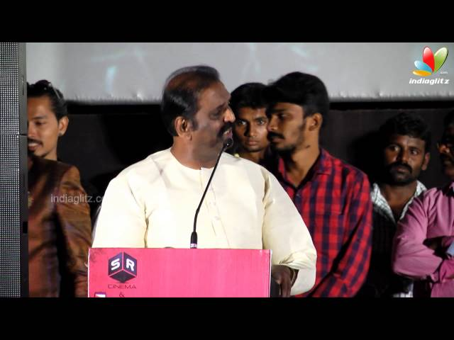 Vairamuthu  and  K. Bhagyaraj at Sathuranga Vettai Tamil Movie Audio Launch | Manobala