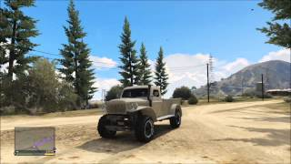 Grand Theft Auto 5 Best OffRoad Tuning Truck Driving
