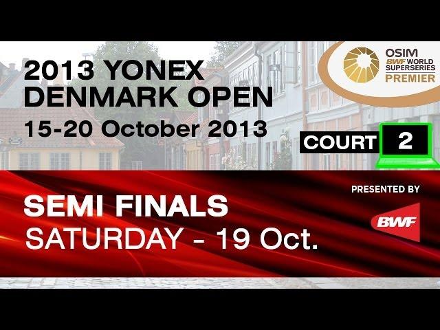 SF (Court 2) - MD - M.Ahsan / H.Setiawan vs H.Endo / K.Hayakawa - 2013 Yonex Denmark Open