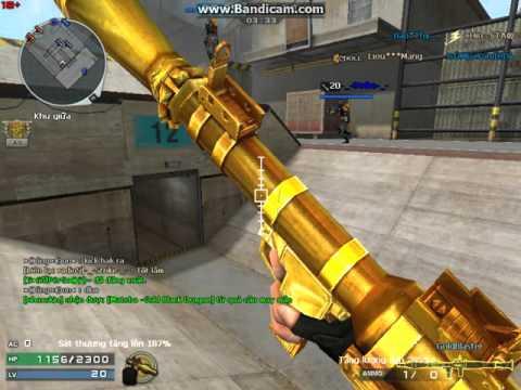 [CFVN] Blaster gold level 10 full ngoc!