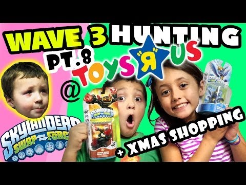 Skylanders Swap Force Hunting: Wave 3 & Christmas Shopping Fun @ Toys R Us - pt.8 - Secret Presents