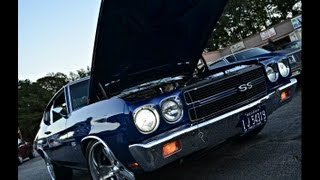 1970 Blue 454 Chevelle SS