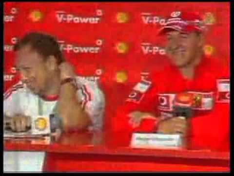 Pânico entrevista Michael Schumacher #ForçaSchumacher