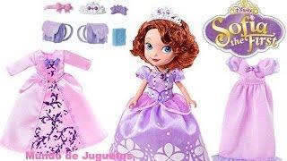 Juego De La Princesa Sofia|Junior Princess- Vestidos De