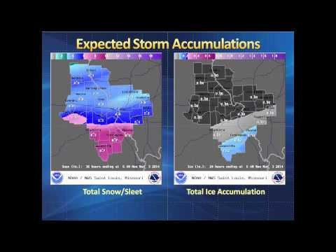 Major Winter Storm Continues To Grip The Region