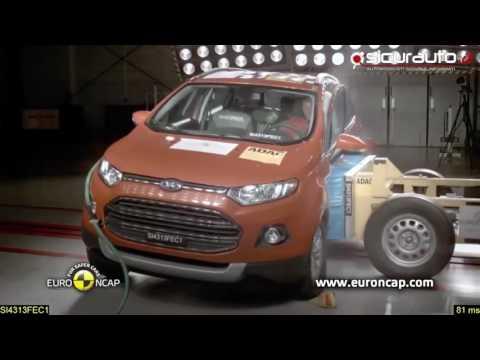 Kiểm tra độ an toàn xe ford ecosport theo tiêu chuẩn Châu Âu