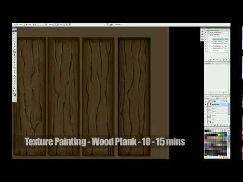 Texture Painting Wooden Planks