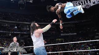 Kofi Kingston vs. Luke Harper: WWE Superstars, February 27, 2015
