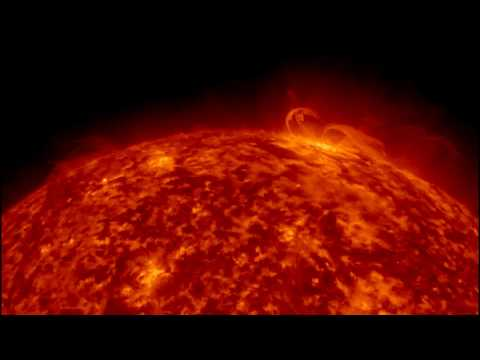 The Sun: A closer look at our nearest star - Real time lapse video captured by Nasa SDO