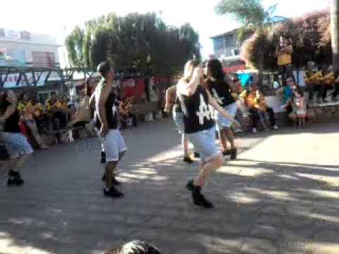 Grupo de dança: Cia dassrtes axe gospel
