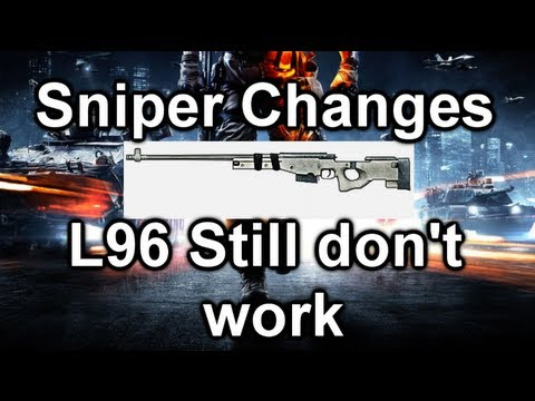 Battlefield 3 Online Gameplay - Patch Sniper Update/Changes