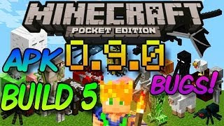 MINECRAFT PE 0.9.0 BUILD 5 GAMEPLAY - LISTA DE CAMBIOS - APK - FINAL EN UNA SEMANA?