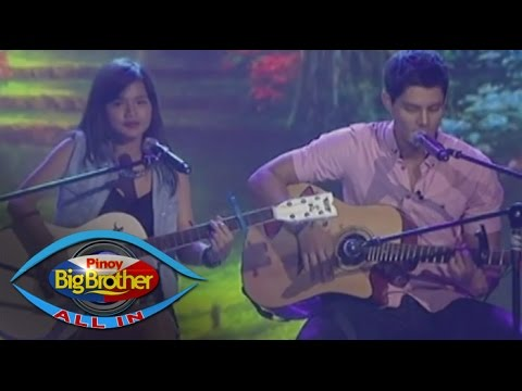 PBB: Daniel, Maris in 'Just The Way You Are' acoustic duet