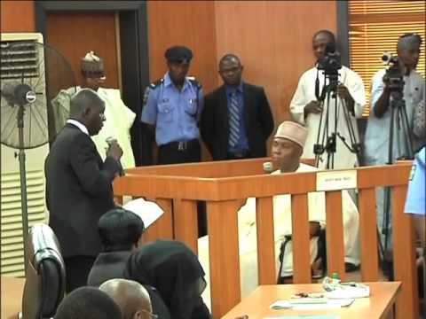 Nigeria's Senate President Bukola Saraki pleads not guilty 13 times at Code of Conduct Tribunal