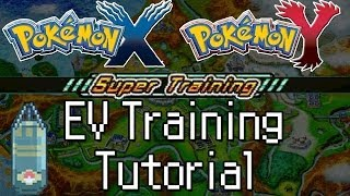 Pokemon X And Y How To EV Train With Super Training! Max