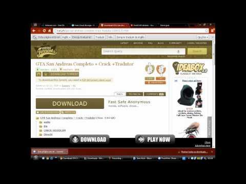 Video Aula - Como Baixar Gta Sandreas ( Completo ) Via Torrent