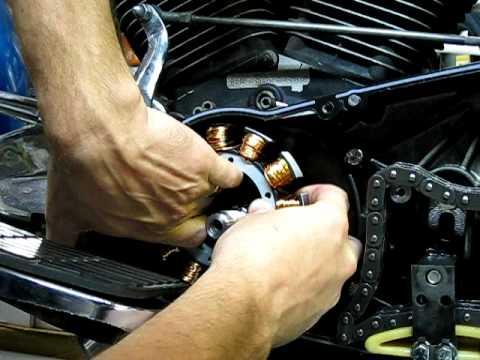 stator repair    installing  stator