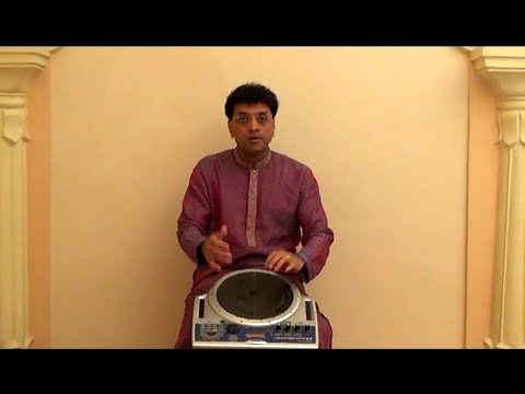 Indian Percussion 3of7: Lavani style Dholki (Naal) demo on Handsonic