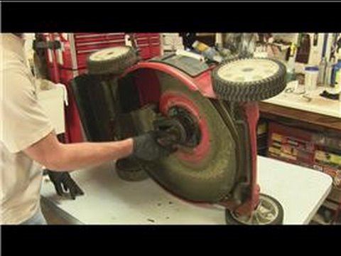 Lawn Mower Repair How To Replace The Drive Belt On A