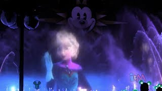 "FULL ""Frozen"" World Of Color Segment With ""Let It Go"" By"