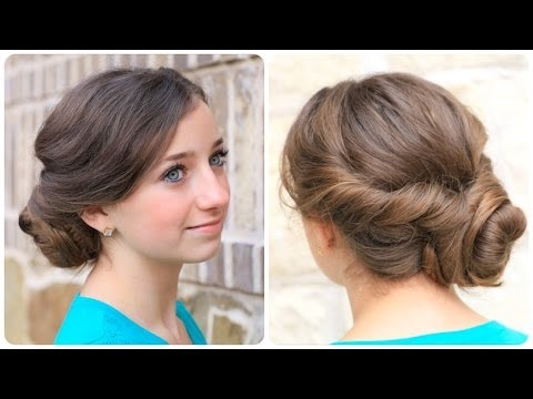 How to Create an Easy Twisted Updo | Plus Exciting Announcement,