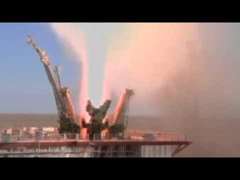 Олимпийският огън в Космоса