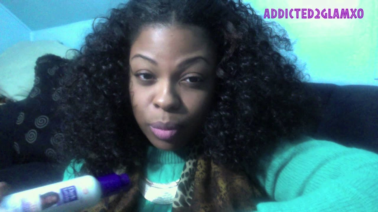 Week Anti Reversion Cream Serum On Natural Hair