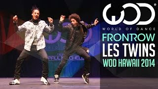 Les Twins | FRONTROW | World of Dance 2014 #WODHI