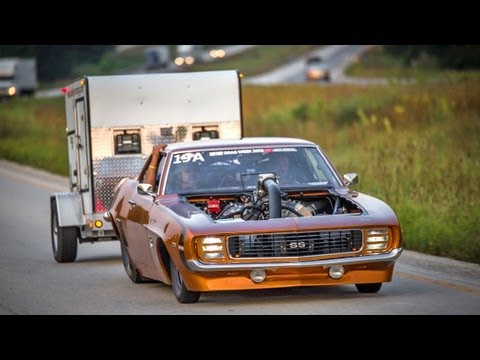 FASTEST STREET CAR IN AMERICA - Tom Bailey's 217 MPH '69 Camaro!