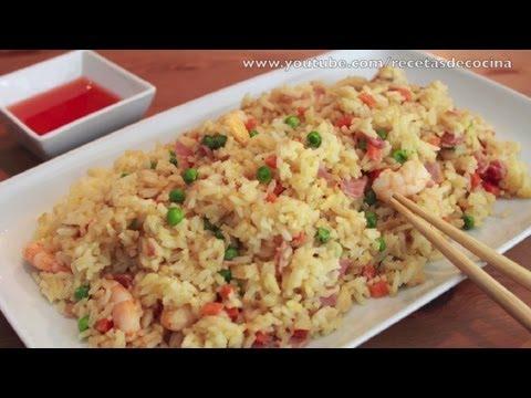 Arroz frito tipo chino