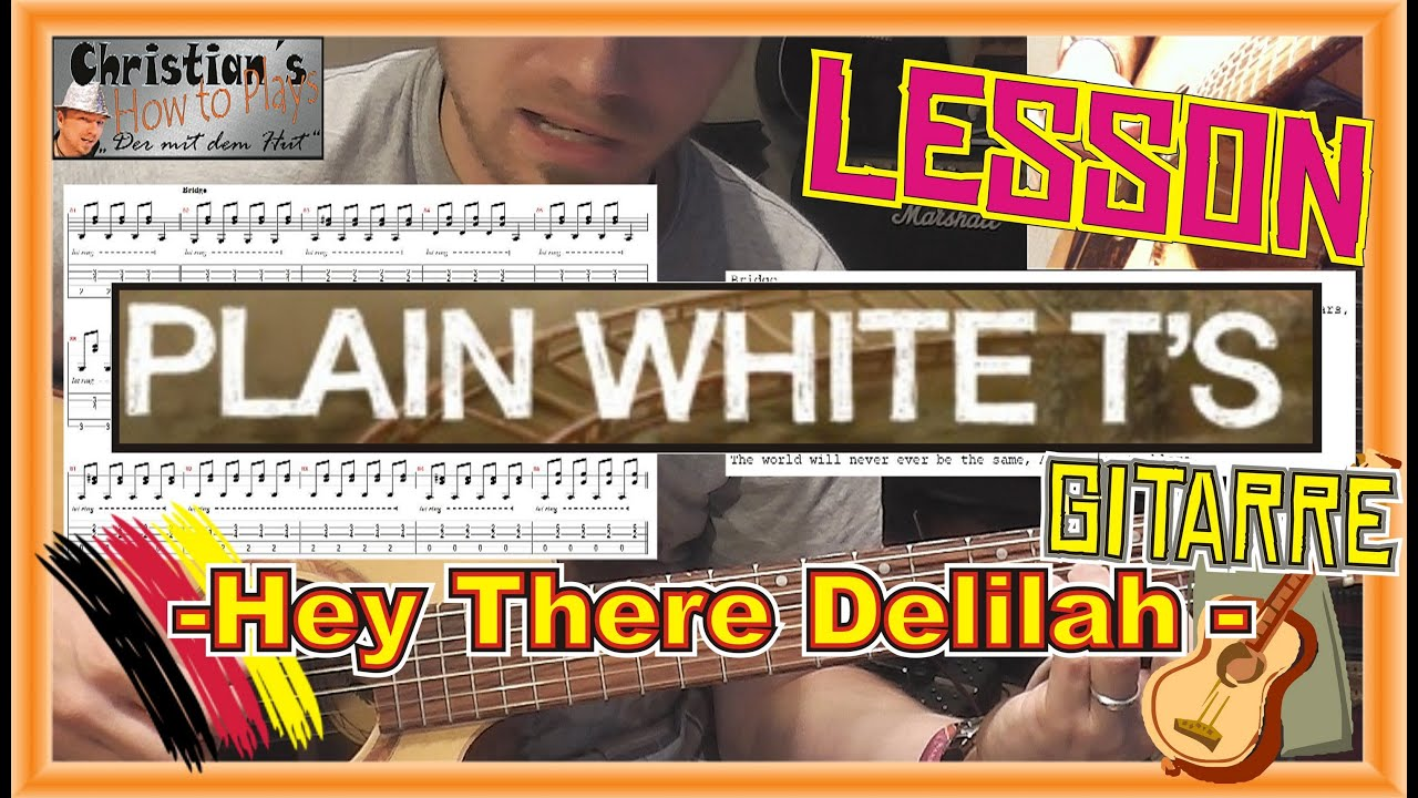 how to play hey there delilah guitar