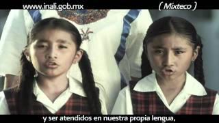 """Spot De La Campaña """"Lenguas Indígenas Nacionales De México"""""""