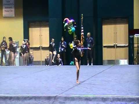 10 Year Old Gymnast Floor Routine