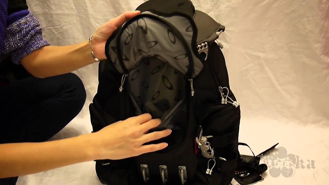 quick look oakley bathroom sink backpack black youtube