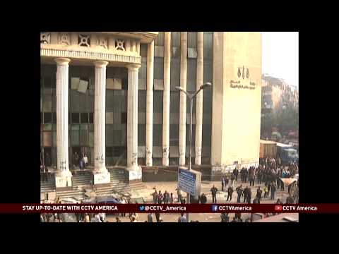 Unrest in Egypt During Vote on Constitution