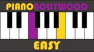 Sunn Raha Hai Na Tu - Aashiqui 2 - Easy PIANO TUTORIAL - Stanza (मुखड़ा)
