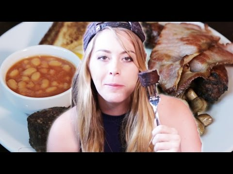 Americans Try An English Breakfast For The First Time