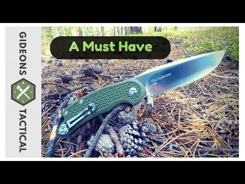 A Must Have Pocket Knife: Steel Will Cutjack