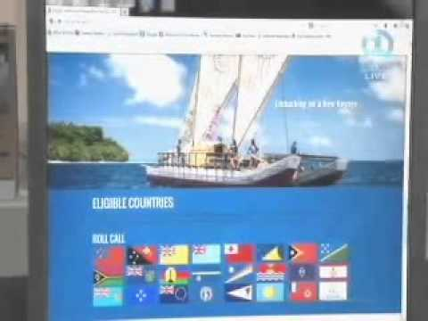 PIDF Website on Fiji TV News