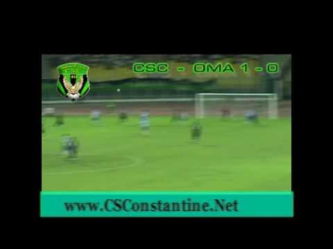 CSConstantine 1 - OMArzew 0 - Le but du CSC