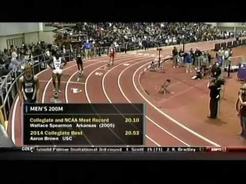 2014 NCAA Indoor Track and Field Championships   Men's 200m
