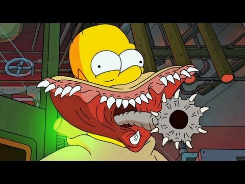 Treehouse of Horror XXIV | Guillermo del Toro Intro - All References