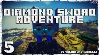 [Coop] Minecraft Diamond Sword Adventure. #5: Деревня в пустыне.