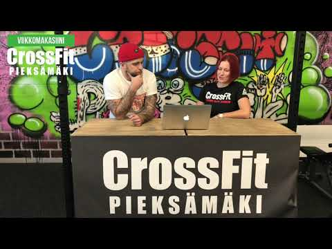 CrossFit Pieksämäki viikkomakasiini Jakso #5 (15.9.2020)