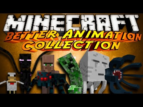 Minecraft Mod Showcase : BETTER ANIMATION COLLECTION!, Yes I've done this before, HOWEVER! They made so many new things that it just deserved another review! Check out the Mod here and tell them Sky sent you! htt...