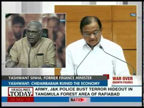 Chidambaram has failed as the Finance Minister: Yashwant Sinha