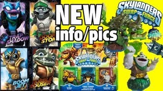 All Swap Force Characters! (Doom Stone / Rubble Rouser