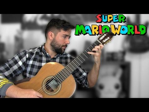 Super Mario World: Castle Theme - Classical Guitar Cover