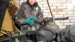 Замена радиатора на двигателе M30