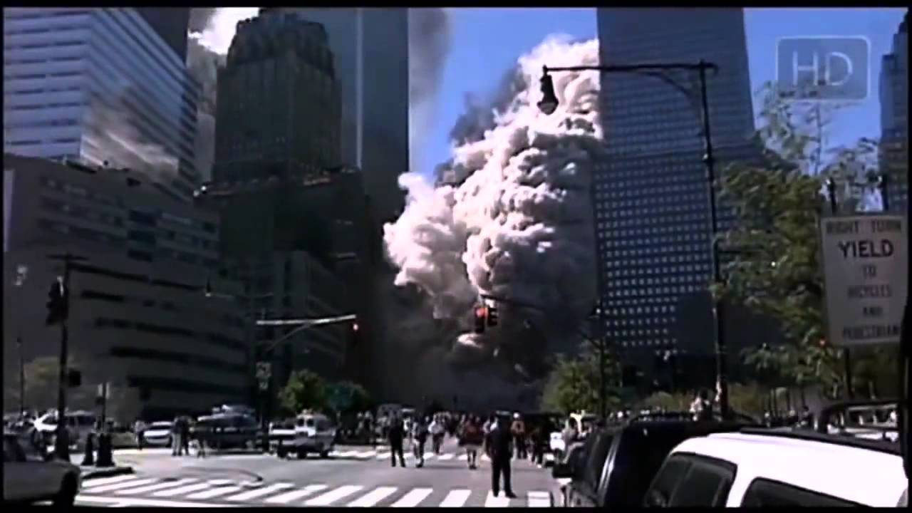 11 attack on twin towers new footage youtube